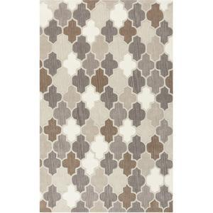 Oasis Area Rug - Gray/Taupe 5' x 8'