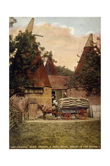 Oast Houses 1908--Giclee Print
