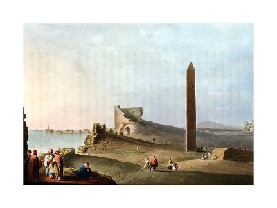 Obelisks at Alexandria Called Cleopatra's Needles, 1802-Louis Mayer-Giclee Print