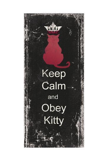 Obey Kitty-Jo Moulton-Art Print