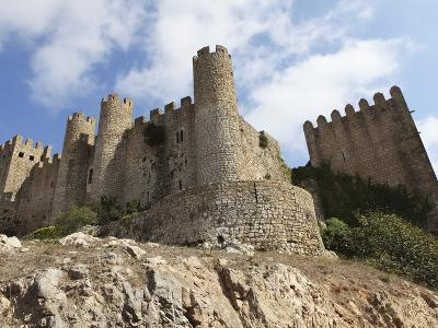 Obidos Castle, a Medieval Forstress, Today Used as a Luxury Pousada Hotel, in Obidos, Estremadura, -Stuart Forster-Photographic Print