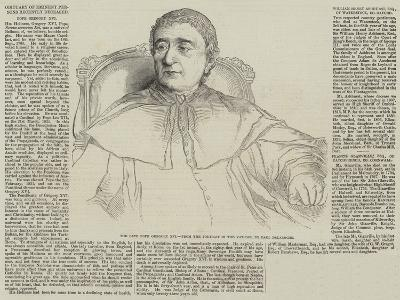 Obituary of Eminent Persons Recently Deceased-Hippolyte Delaroche-Giclee Print