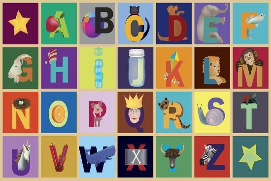 Object ABC-Ali Lynne-Giclee Print