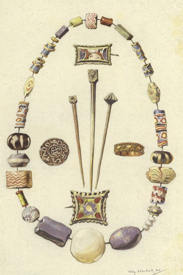 Objects from the Ancient Settlement of Dorestad, Netherlands-Willem II Steelink-Giclee Print