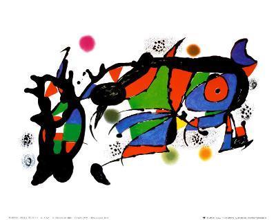 Obra de Joan Miro-Joan Mir?-Art Print
