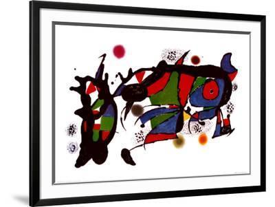 Obra de Joan Miro-Joan Mir?-Framed Art Print