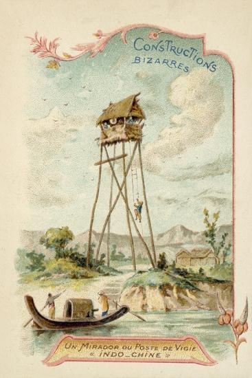 Observation Tower, Indochina--Giclee Print