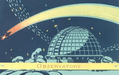 Observatory and Comet