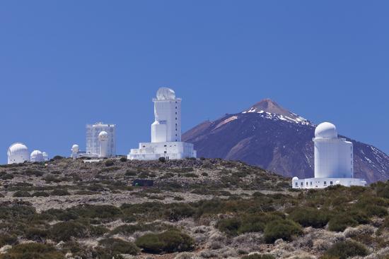 Observatory at Pico Del Teide, National Park Teide, Tenerife, Canary Islands, Spain-Markus Lange-Photographic Print