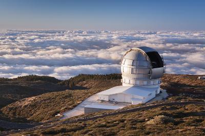 Observatory Gran Telescopio Canarias, Parque Nacional De La Caldera De Taburiente, Canary Islands-Markus Lange-Photographic Print
