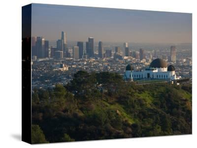 Observatory on a Hill Near Downtown, Griffith Park Observatory, Los Angeles, California, USA