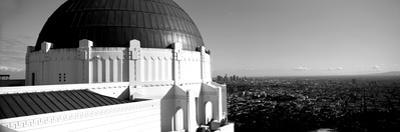 Observatory with Cityscape in the Background, Griffith Park Observatory, Los Angeles