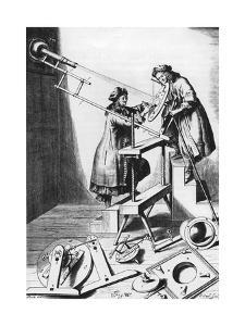 Observing a Solar Eclipse, 1673
