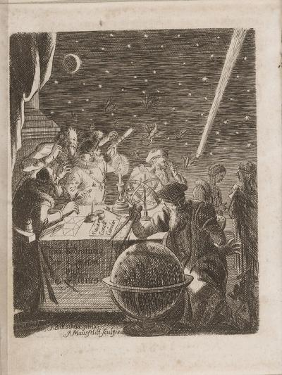 Observing the Heavens in the Age of Galileo, 1681-Pierre Petit-Giclee Print