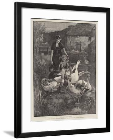 Obstructionists--Framed Giclee Print
