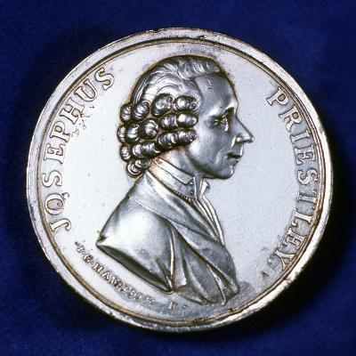 Obverse of Commemorative Medal for Joseph Priestley (1733-180), 1803--Photographic Print