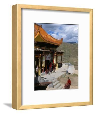 A Tibetan Nunnery at Garze, Sichuan Province, China