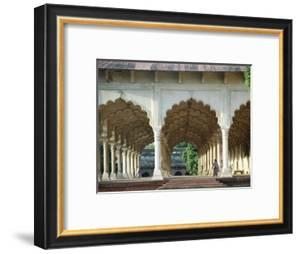 Arches, the Red Fort, Agra, Unesco World Heritage Site, Uttar Pradesh State, India, Asia by Occidor Ltd