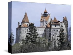 Bran Castle, (Dracula's Castle), Bran, Romania, Europe by Occidor Ltd