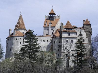 Bran Castle, (Dracula's Castle), Bran, Romania, Europe