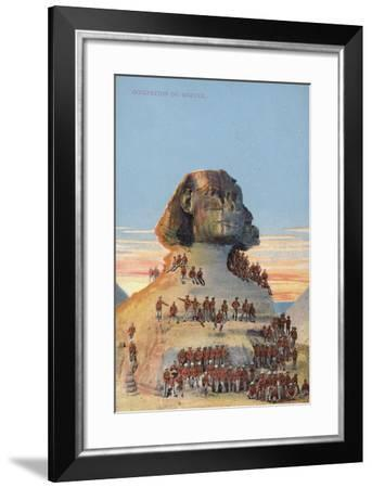 Occupation of the Sphinx--Framed Photographic Print