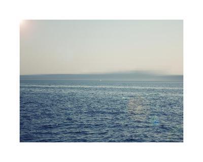 Ocean abstract-Savanah Plank-Giclee Print