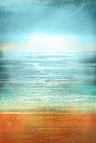 Ocean Abstract-Anna Polanski-Art Print