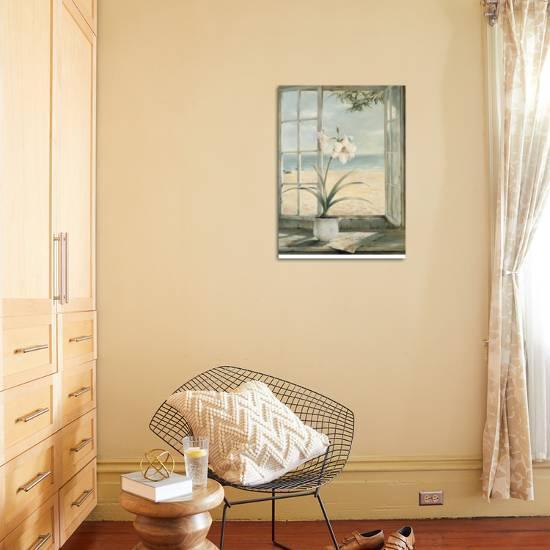Ocean Amaryllis Art Print by Fabrice De Villeneuve | the NEW Art.com