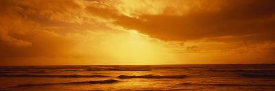 Ocean at Dusk, Pacific Ocean, California, USA--Photographic Print
