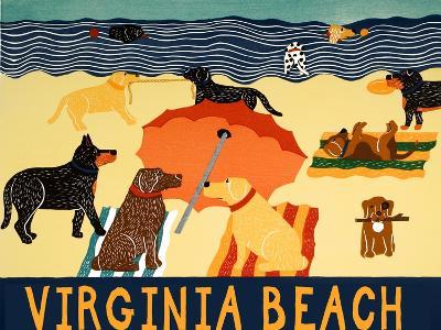 Ocean Ave Virginia Beach-Stephen Huneck-Giclee Print