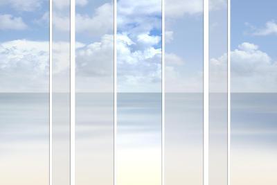 Ocean Background-shmeljov-Art Print
