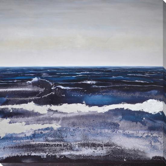 Ocean Beach Dusk--Hand Painted Art