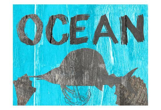 Ocean Blue-Sheldon Lewis-Art Print