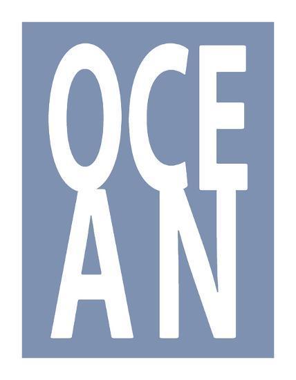 Ocean Blue-Jamie MacDowell-Giclee Print