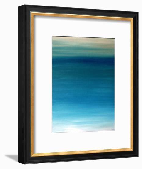 Ocean blue-Kenny Primmer-Framed Art Print