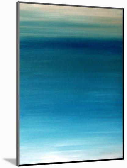 Ocean blue-Kenny Primmer-Mounted Art Print