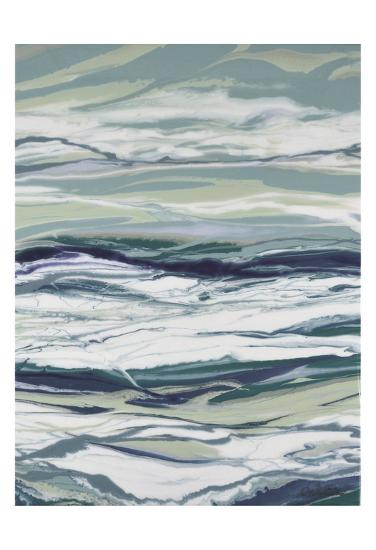 Ocean Blues-Barbara Bilotta-Art Print