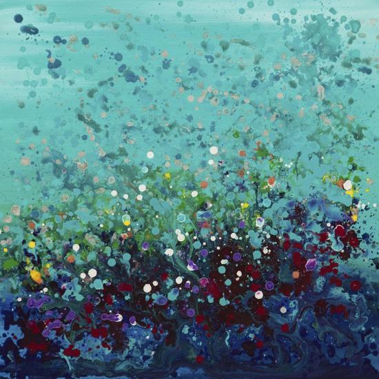 Ocean Break 2-Hilary Winfield-Giclee Print