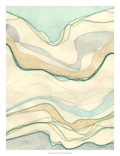 Ocean Cascade I-Vanna Lam-Giclee Print