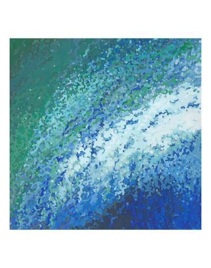 Ocean City Surf-Margaret Juul-Art Print