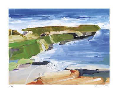 Ocean Cliffs-Barbara Rainforth-Giclee Print
