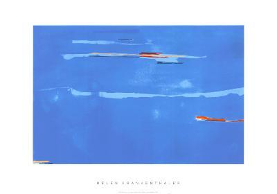 Ocean Drive West No. 1, c.1974-Helen Frankenthaler-Serigraph