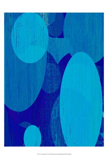 Ocean Ellipses I-Ricki Mountain-Art Print