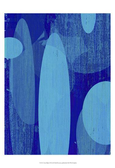 Ocean Ellipses II-Ricki Mountain-Art Print
