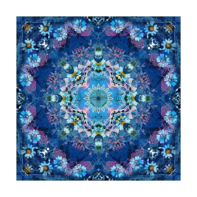 Ocean Flower Mandala-Alaya Gadeh-Art Print
