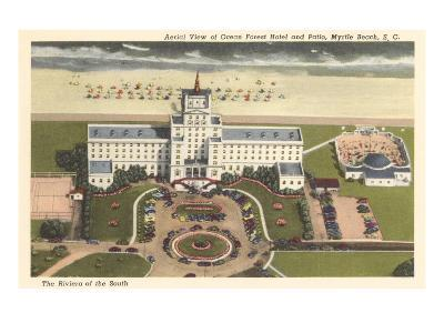 Ocean Forest Hotel, Myrtle Beach, South Carolina--Art Print