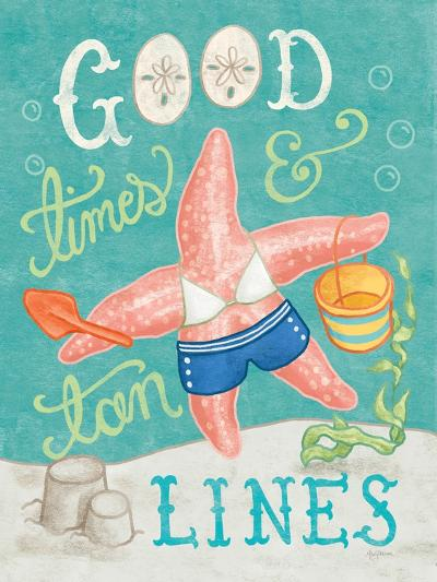 Ocean Friends III-Mary Urban-Art Print