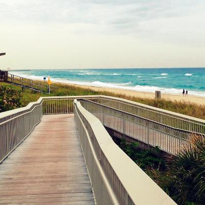 Ocean Front Park-Lisa Hill Saghini-Photographic Print