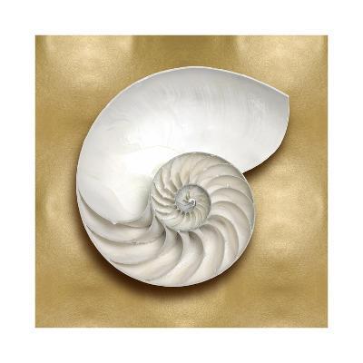 Ocean Gem on Gold II-Caroline Kelly-Giclee Print
