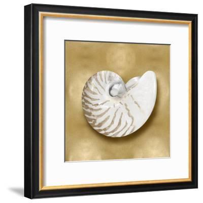Ocean Gem on Gold III-Caroline Kelly-Framed Giclee Print